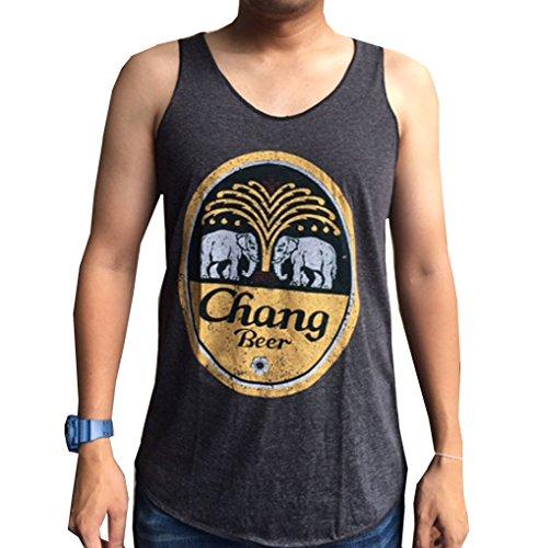 chang-beer-vestdark-grayyoga-top-comfort-cotton-summer-shirtsfree-size