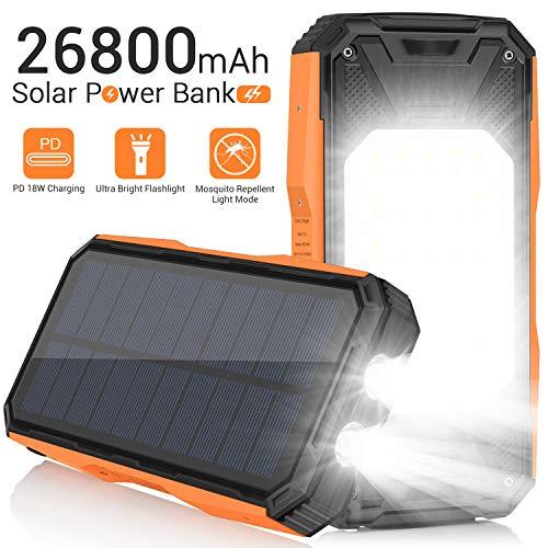 Solar Charger 26800mAh Portable