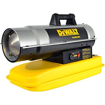 Dewalt Dxh75kt Kerosene Heater 75k Btu Outdoor Space