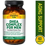 Cheap Country Life DHEA Complex for Men – 60 Vegan Capsules – Supports Graceful Aging – Promotes Male Sex Hormones