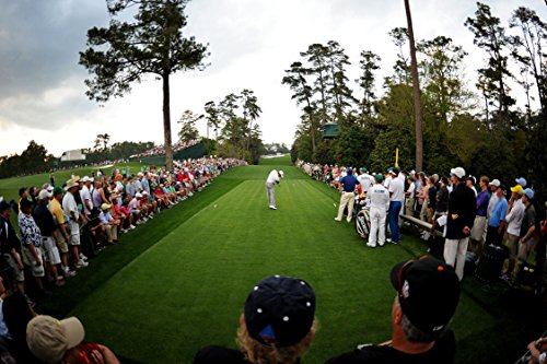XXXL Poster Size Photo 20x30 Tiger Wood Finishing 18th Holes AT the Masters 2005 (Woods Tiger Photo)