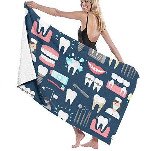 - NiYoung Luxury Bath Towels Wash Cloths for Home, Hotel, Spa, Pool - Dental Seamless Pattern Towels, Ultra Soft Shower & Bath Towel Extra Large High Absorbency Bathroom Towel