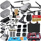 DJI Mavic 2 Pro Drone Quadcopter and Fly More Kit Combo Rugged Bundle Comes with 3 Batteries, Hasselblad Camera Gimbal, Rugged Carrying Case and Must Have Accessories