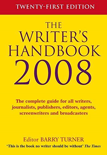 The Writer's Handbook 2008