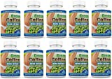 Pure Green Coffee Bean Extract Cleanse Detox Weight Loss 60 Capsules 10 Bottles