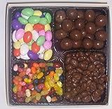 Scott's Cakes Large 4-Pack Chocolate Jordan Almonds, Chocolate Malt Balls, Chocolate Raisins, & Assorted Jelly Beans