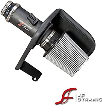 R/&L Racing AF Dynamic Black Air Filter Intake Systems 3.5 Pipe with Heat Shield 2013-2016 for Honda Accord//Acura TLX 3.5L V6
