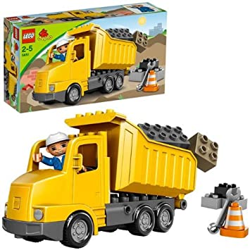 Buy Lego Duplo Dump Truck Online At Low Prices In India Amazonin