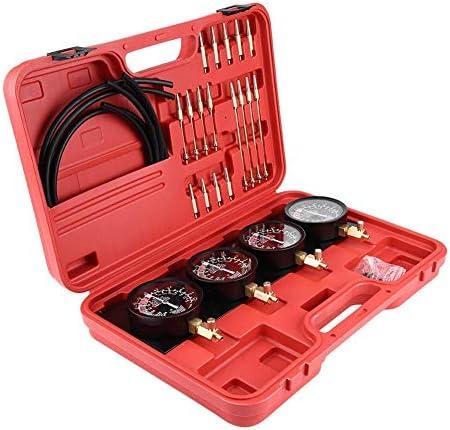 キャブレターシンクロナイザーおよび調整ツールキット、シンクロナイザーツールバランサーゲージキット、ユニバーサルオートバイバキュームキャブレターシンクロナイザー