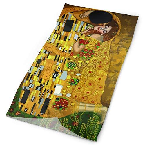 BestgoodsLTD Gustav Klimt Kisses Headband Bandana£¬Outdoor Multifunctional Headwear,Magic Scarf for Men Women (Klimt The Kiss Costume)