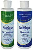 No Rinse Shampoo & Conditioner - No Rinsing Required - 1 Of Each