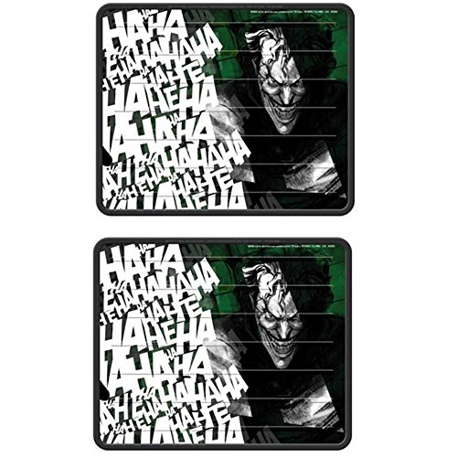 DC+Comics Products : Rear Seat Utility PlastiClear Vinyl Floor Mats - Auto Car Truck SUV Vehicle - DC Comics - The Joker - PAIR