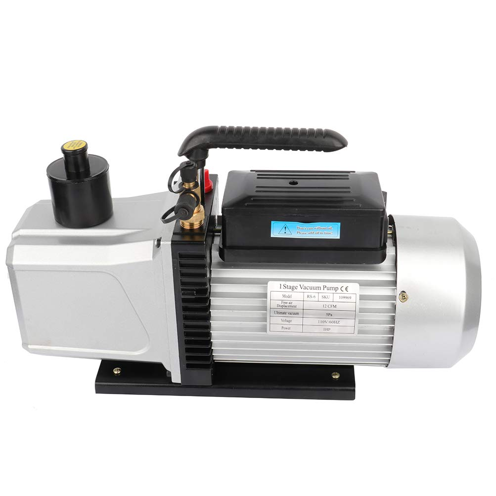 OCPTY 12CFM Vacuum Pump 1HP R410a R134