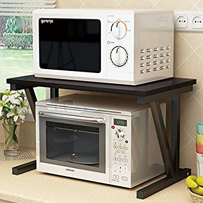 Rack de Cocina Horno microondas Estante de Almacenamiento de ...