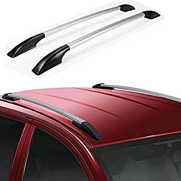 Accedre Car Drill Free Roof Rails SILVER   Maruti Alto (All Years):  Amazon.in: Car U0026 Motorbike
