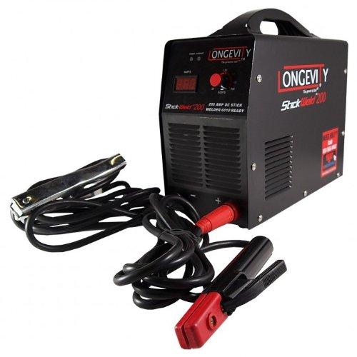 Longevity 880311 Stickweld 200 200Amp Stick Welder With Hot Start And Anti-Stick E6010 Capable