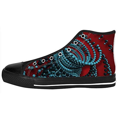 delle Canvas Scarpe Shoes 3D Custom da Scarpe Scarpe Tetto Women's I Alto stereoscopica Lacci Stampa Ginnastica 8wxT4qHR