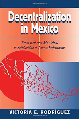 Decentralization In Mexico: From Reforma Municipal To Solidaridad To Nuevo Federalismo