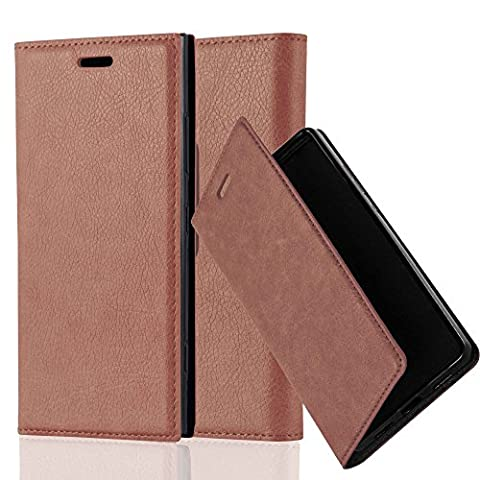 Cadorabo - Book Style Wallet with Stand Function for Nokia Lumia 920 with Card Slot and invisible Magnetic Closure - Etui Case Cover Protection in (Cover Case Nokia Lumia 920)