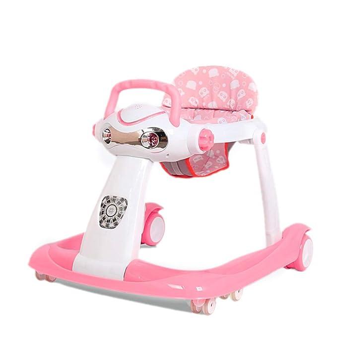 BLWX LY Andadores for bebés con Ruedas Andador de Empuje ...