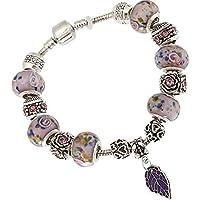 925 Sterling Silver Cuff Bracelet Bangle Chain Wristband Women Fashion Jewelry#by pimchanok shop