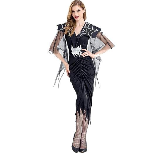 XRQ Disfraz de araña de Halloween, Bruja Reina, Cosplay de Demonio ...