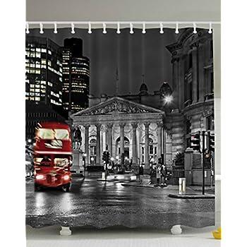 Amazon.com: World Explorer European Cityscape London Decor, Red ...