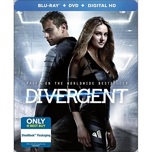 Divergent, Limited Edition Steelbook [Blu-ray]
