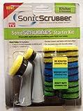 Sonic Scrubbies Starter Kit Kitchen & Household for Sonic Scrubber