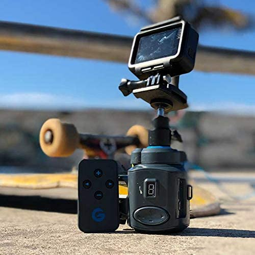 GRIP GEAR MOVIE MAKER 2 SET - POCKET SIZED ELECTRONIC CAMERA SLIDER FOR SMALL CAMERAS WITH 360° PANORAMIC TIME-LAPSE HEAD. FITS INTO A DAY PACK. COMPATIBLE WITH CAMERAS LESS THAN 1.2 LBS.