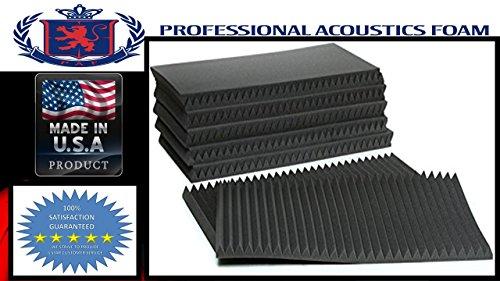 2 Studiofoam Wedge Panels (Professional Acoustics Foam 2