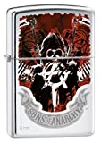 Zippo Lighter - Sons of Anarchy Insignia High Polish Chrome ZMP324793