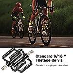 IPSXP-Pedali-per-BiciPedali-Bici-MTB-con-Lega-di-AlluminioPedale-Universale-per-Mountain-Bike-BMX-da-916-Pollici