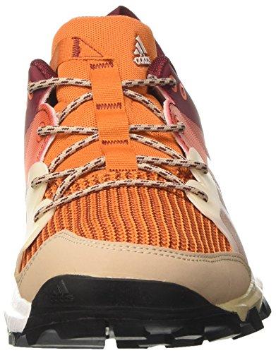 adidas Herren Kanadia 8 TR M Laufschuhe Mehrfarbig (Arancionenartac/blatiz/buruni)