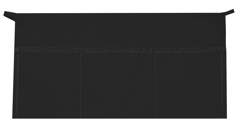 Daystar # 100ブラック3つポケットウエストエプロンpresented by Paynter Enterprises LLC Made in USA   B074GDFKQ6