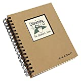 Gardening, The Gardener's Journal (Natural Brown) *NEW Edition