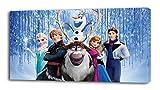 FROZEN Disney Princess CANVAS PRINT Home Wall Decor Art Giclee Kids Elsa Anna P042, Small