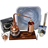 """CopperGarden""®"" Whisky-Destille ❀ 0,5 Liter ❀ Supreme Electric ❀ Sorgenfrei Set mit Pumpe und Zubehör"