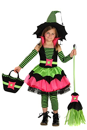 Princess Paradise Child Spiderina Costume, Small (Witch Girls Costume)