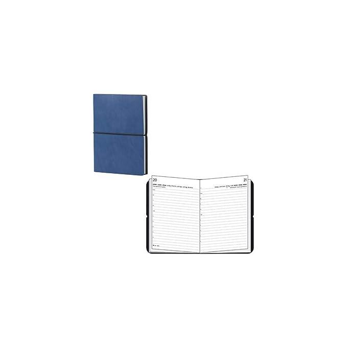 CIAK - Agenda (A5, 2015, piel), color azul: Amazon.es ...