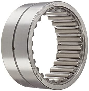 "Koyo HJ-567232 Needle Roller Bearing, Heavy Duty, HJ Type, Open, Oil Hole, Steel Cage, Inch, 3-1/2"" ID, 4-1/2"" OD, 2"" Width, 4900rpm Maximum Rotational Speed, 84300lbf Static Load Capacity, 42000lbf Dynamic Load Capacity"