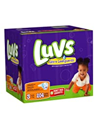 Luvs With Ultra Leakguards Size 3 Diapers 204 Count BOBEBE Online Baby Store From New York to Miami and Los Angeles
