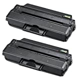 Shop At 247 ® Compatible Toner Cartridge Replacement for Samsung MLT-D103L ML-2955 (Black, 2-Pack)