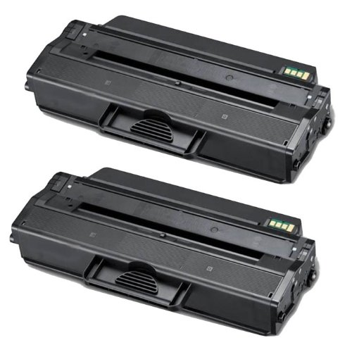 Shop At 247 ® Compatible Toner Cartridge Replacement for Samsung MLT-D103L ML-2955 (Black, 2-Pack), Office Central