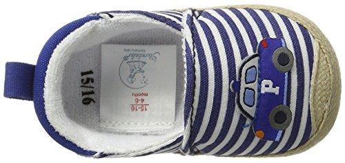 Sterntaler Baby-espandrilles - Zapatillas de casa Bebé-Niñas Blau (Blau)