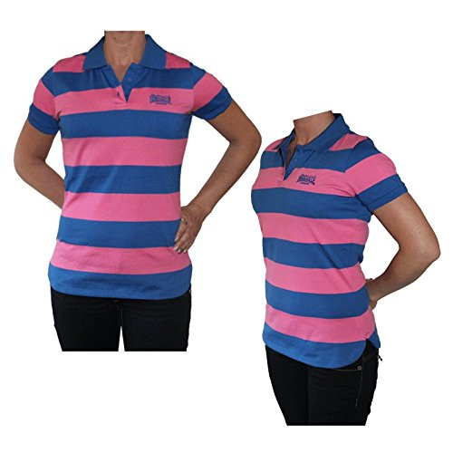Lonsdale quot;Yd Girl Polo (Deep Blue/rosa): Amazon.es: Ropa y ...