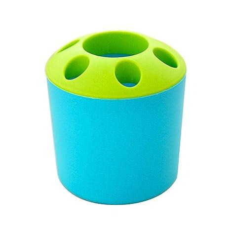 mollylover Accesorios para el baño - Porta Cepillo de Dientes Autoadhesivo - Ideal como Soporte para