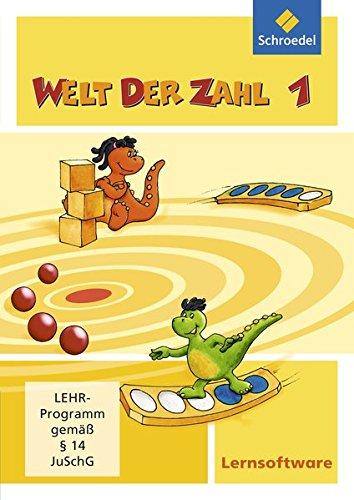 Welt der Zahl Lernsoftware: Welt der Zahl - Ausgabe 2009: Lernsoftware 1
