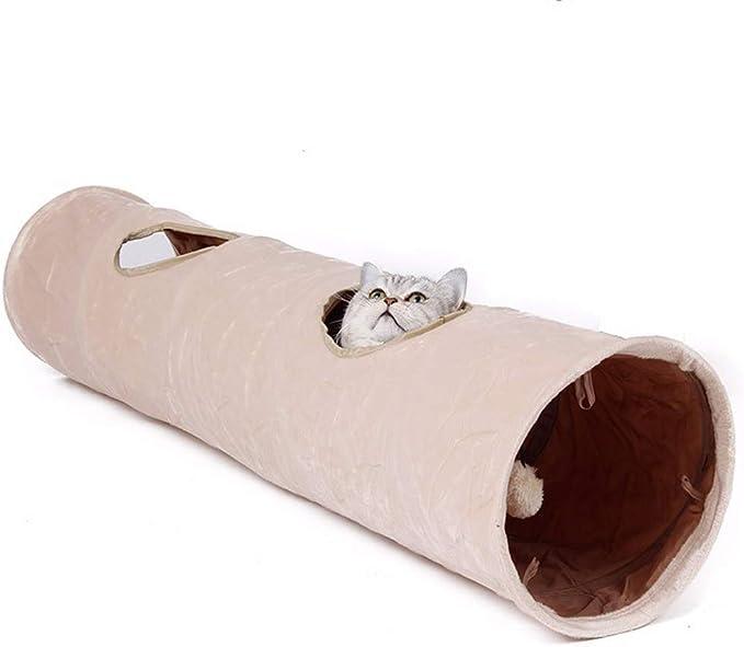 B&F Colchoneta para Gatos, túnel para Mascotas, Pliegues Suaves ...