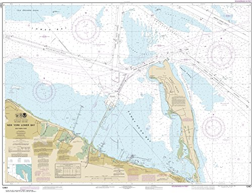 NOAA Chart 12401 New York Lower Bay Southern part: 35.6